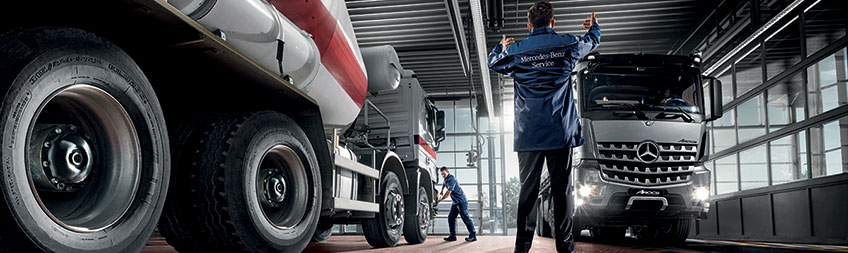 Mercedes benz rigid truck offer bell truck and van for Mercedes benz service contract