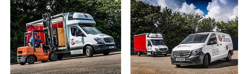 Mercedes Benz Sprinter Lifts The Curtain On SR Transportu0027s Silver  Anniversary Celebrations