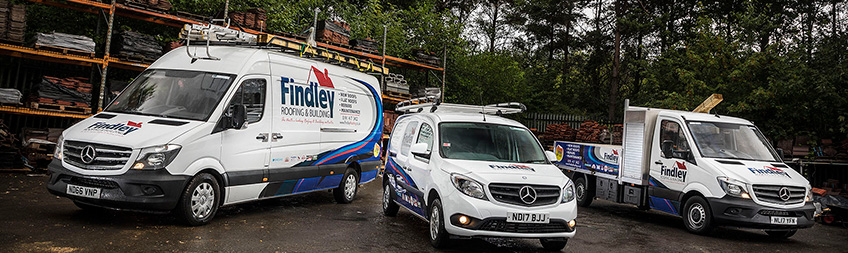 Captivating Mercedes Benz Vans Are Pitch Perfect For Findley Roofing