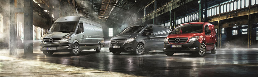 New and used mercedes benz vans commercial vehicles for Mercedes benz commercial