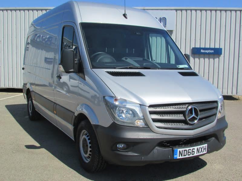 Mercedes benz sprinter 316cdi van bell truck and van for Mercedes benz used vans