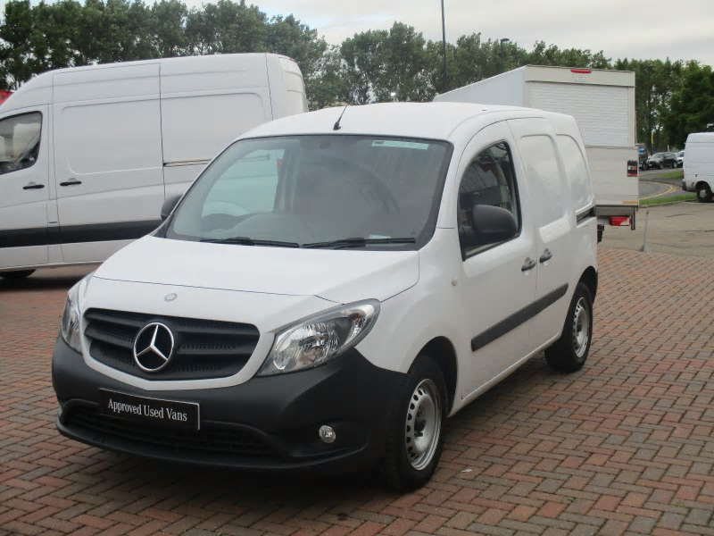 Mercedes benz citan 109cdi van bell truck and van for Mercedes benz used vans