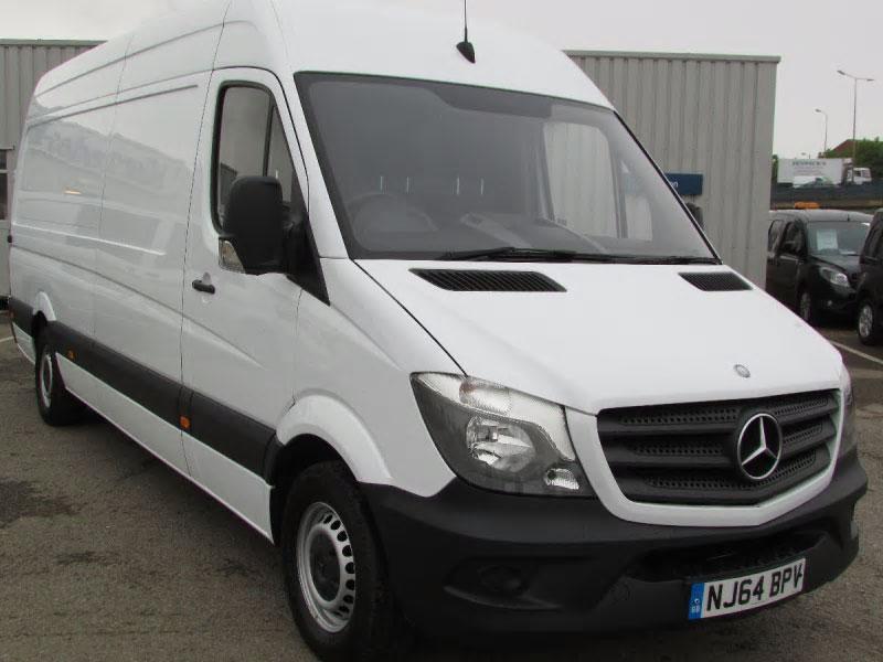 Mercedes benz sprinter 313cdi van bell truck and van for Mercedes benz truck financial