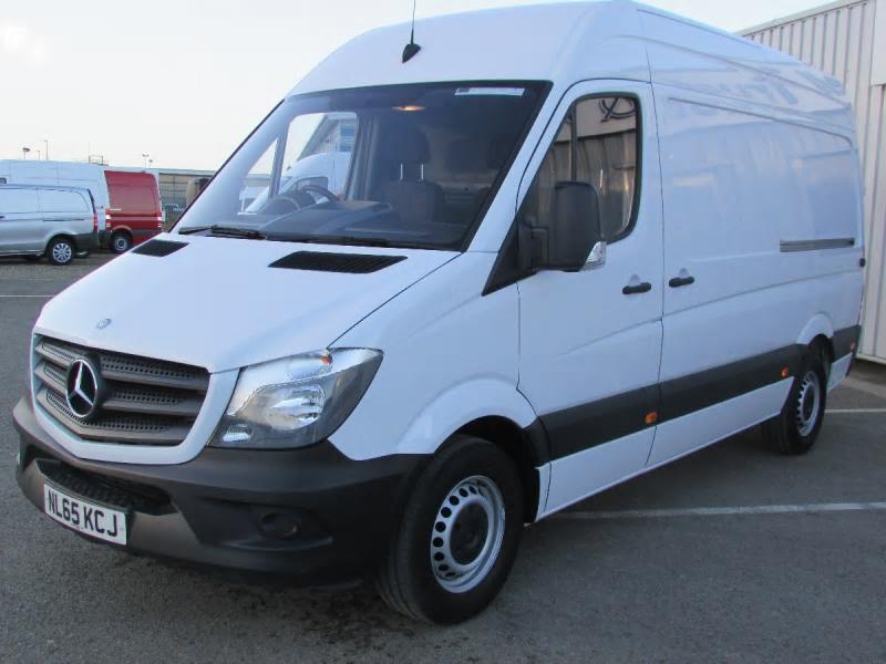 Mercedes benz sprinter 313cdi van bell truck and van for Mercedes benz sprinter parts and accessories