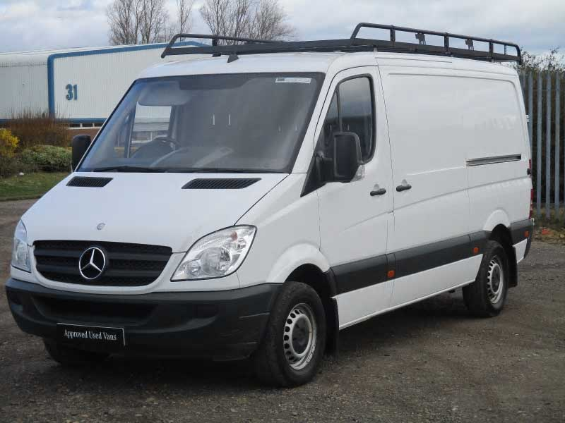 Mercedes benz sprinter 313cdi van bell truck and van for Mercedes benz work vans