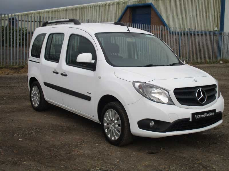 new and used mercedes benz citan bell truck and van. Black Bedroom Furniture Sets. Home Design Ideas