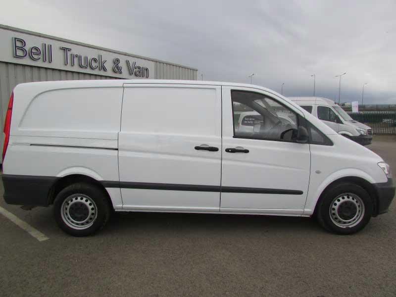 Mercedes benz vito 113cdi van bell truck and van for Mercedes benz used vans