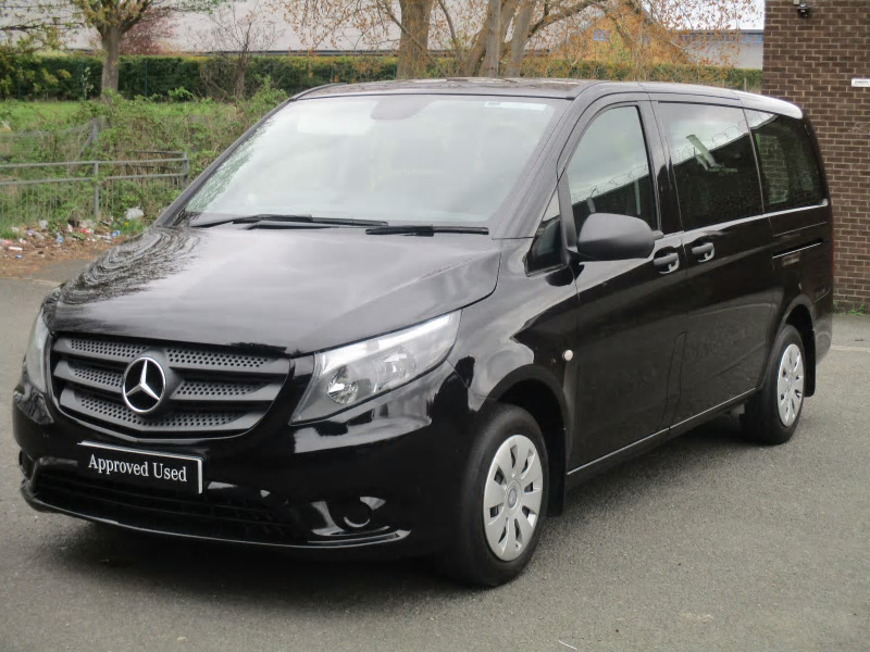 Mercedes benz vito 111 bluetec tourer pro bell truck and van for Used mercedes benz van