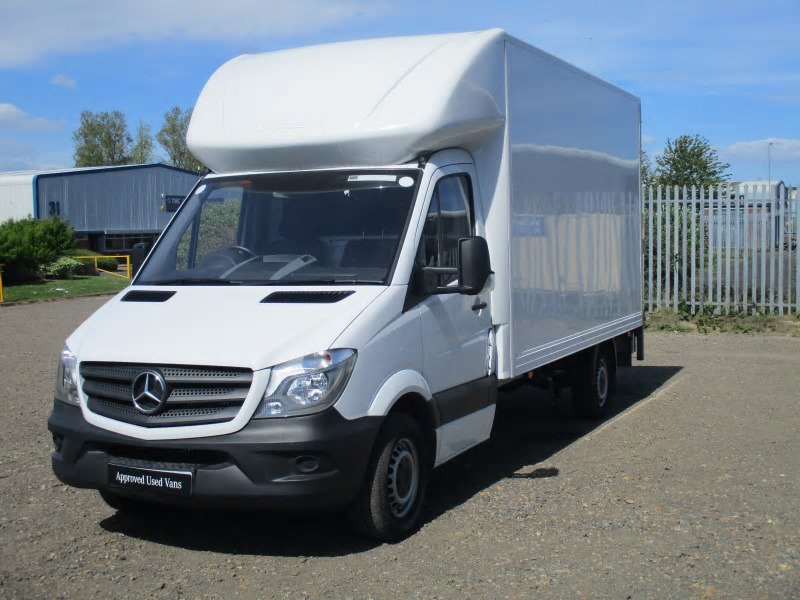Mercedes benz sprinter 313cdi luton box bell truck and van for Used mercedes benz van