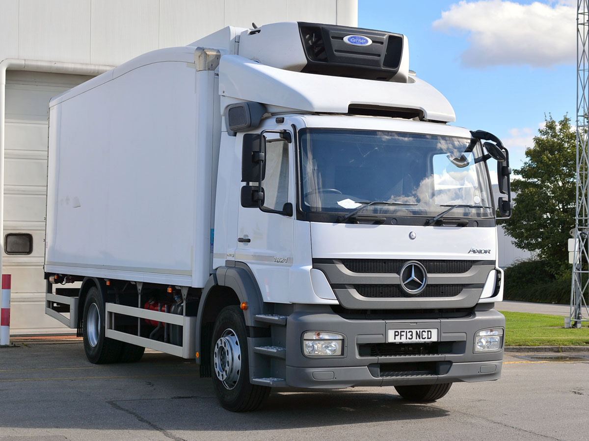 mercedes benz atego 1823l fridge bell truck and van. Black Bedroom Furniture Sets. Home Design Ideas