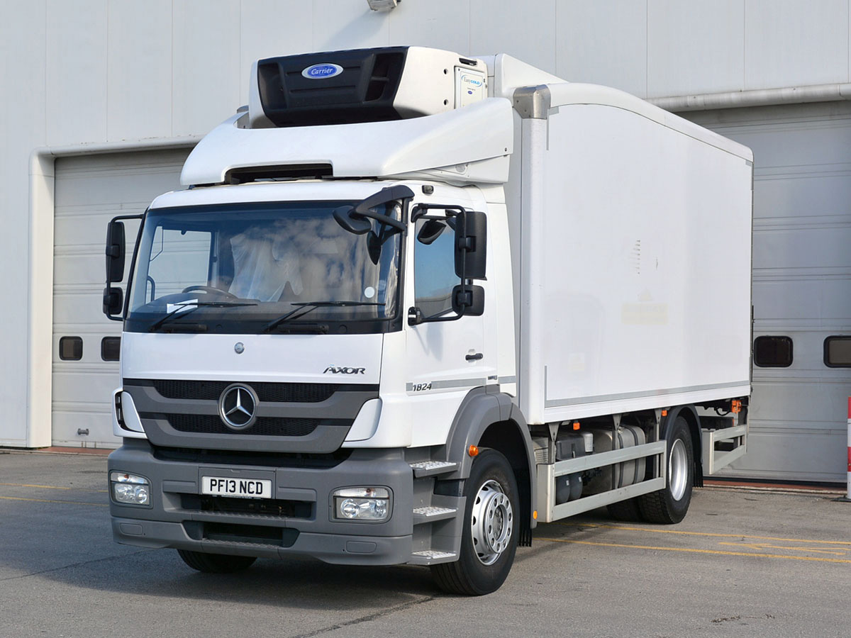 Mercedes benz atego 1823l fridge bell truck and van for White mercedes benz truck
