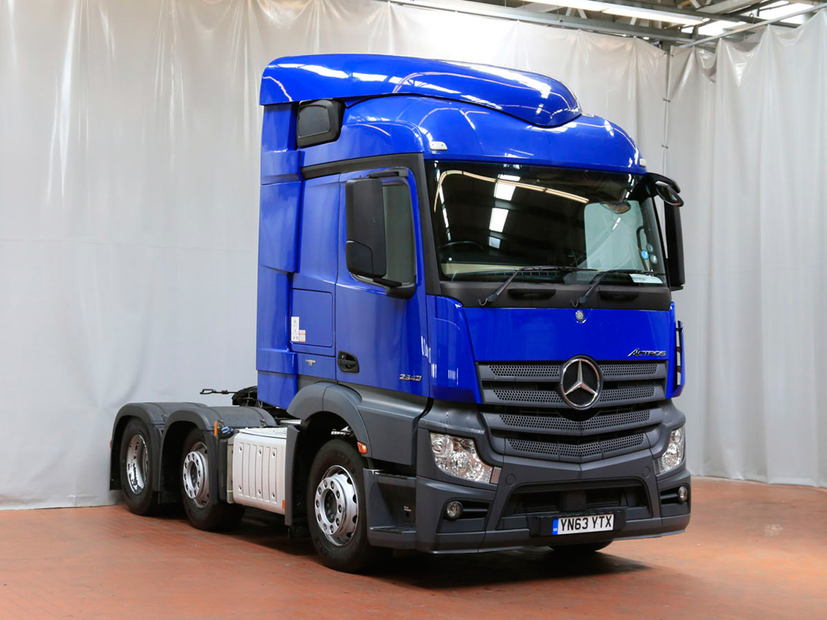 New and used mercedes benz trucks commercial vehicles for Used mercedes benz truck