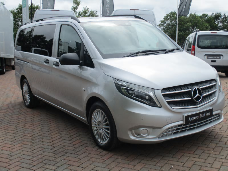 mercedes benz vito 119 tourer select bell truck and van. Black Bedroom Furniture Sets. Home Design Ideas