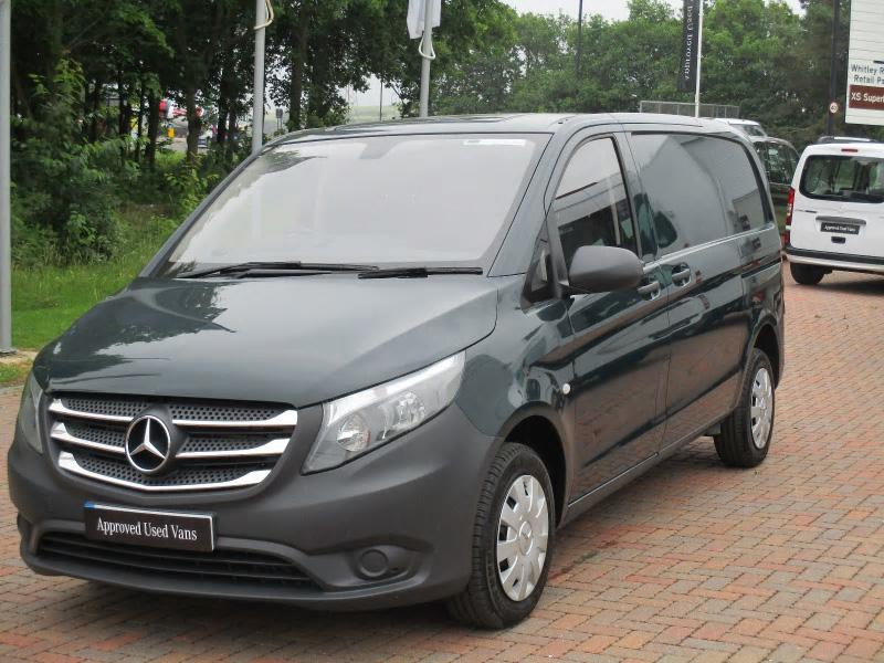Mercedes Benz Vito 109cdi Van Bell Truck And Van