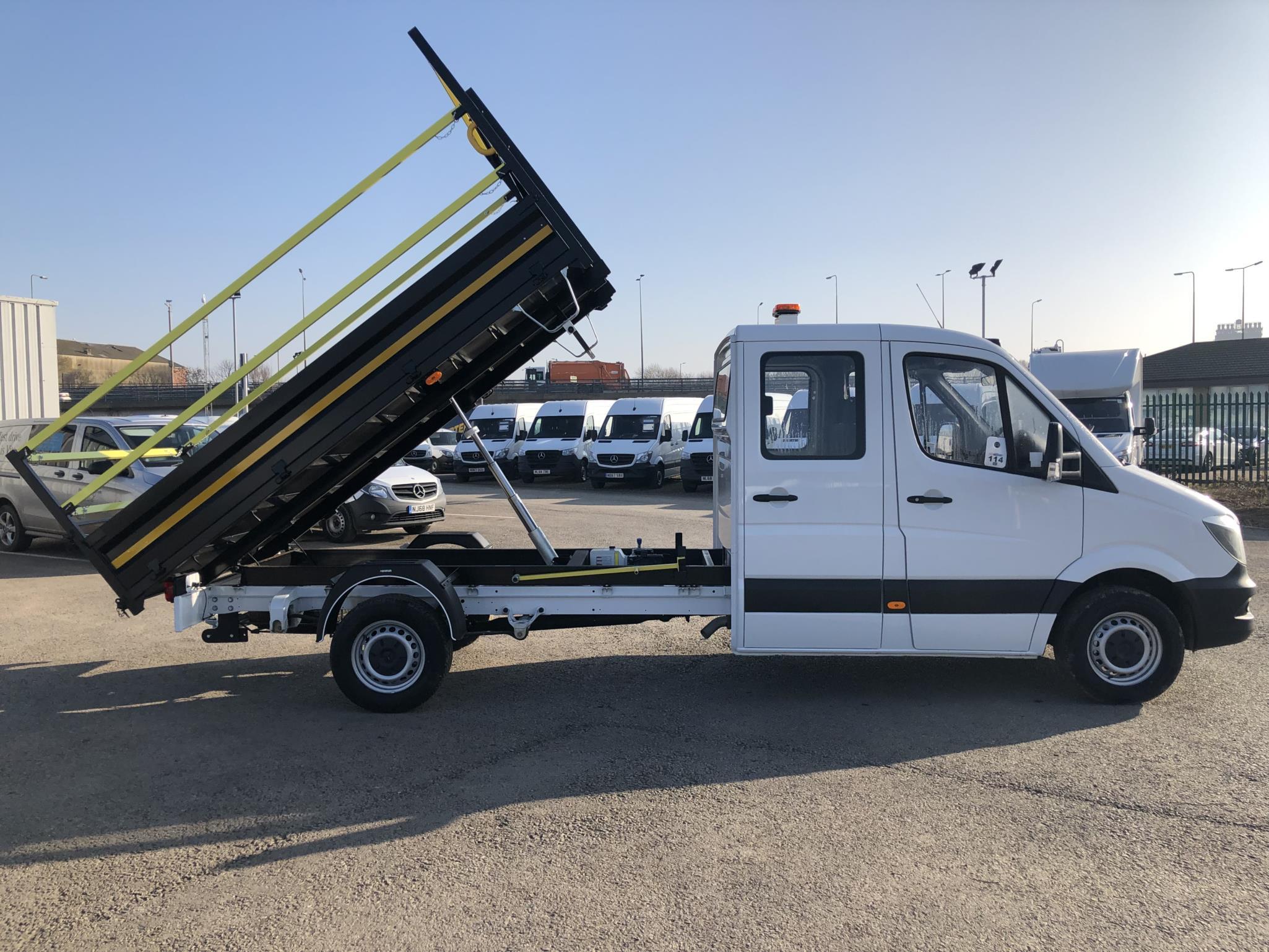 mercedes benz sprinter 314cdi crewcab van bell truck and van. Black Bedroom Furniture Sets. Home Design Ideas