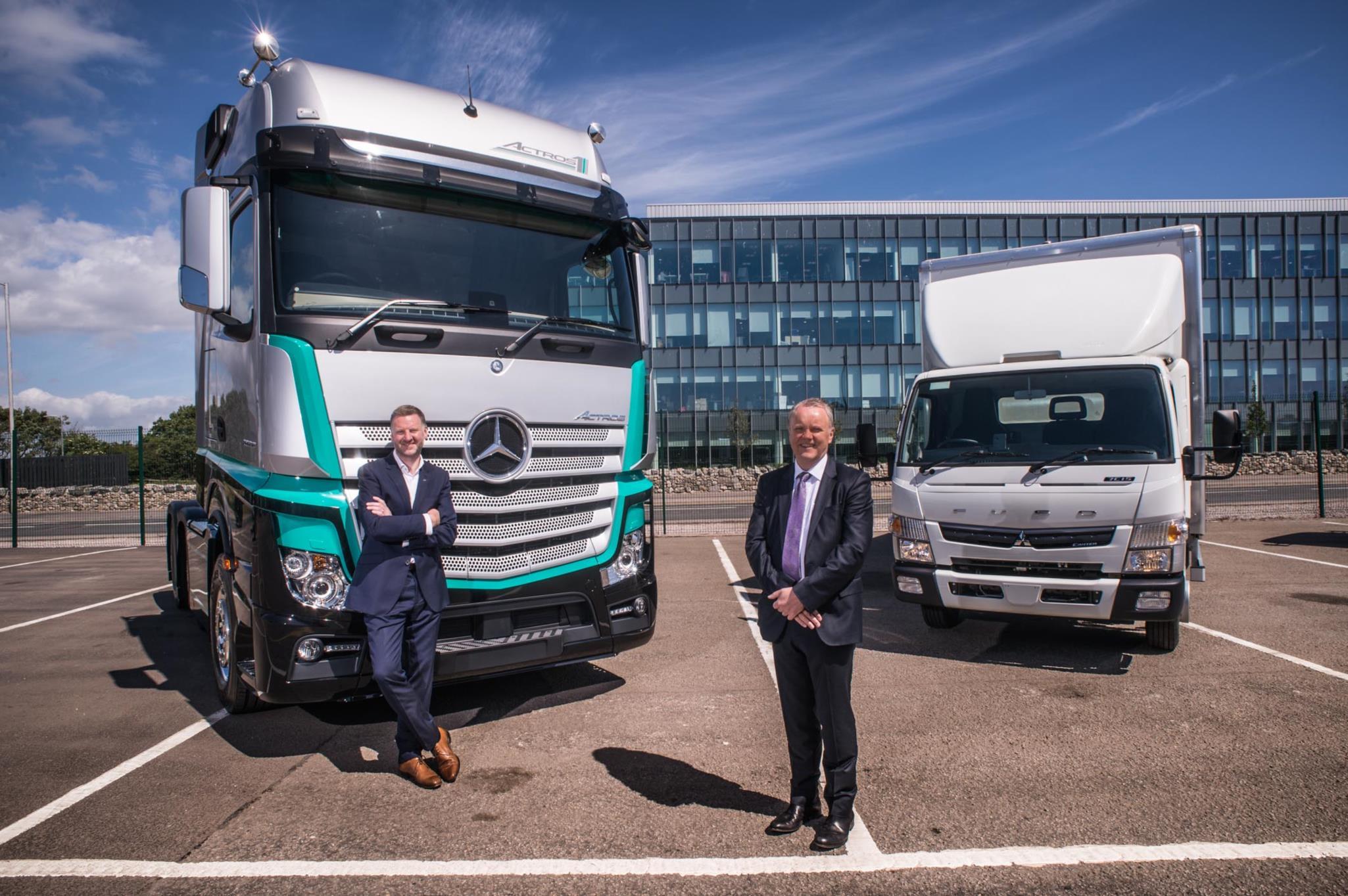 0087a9b2ad Mercedes-Benz Dealer BLS Truck   Van is up and running in Aberdeen ...