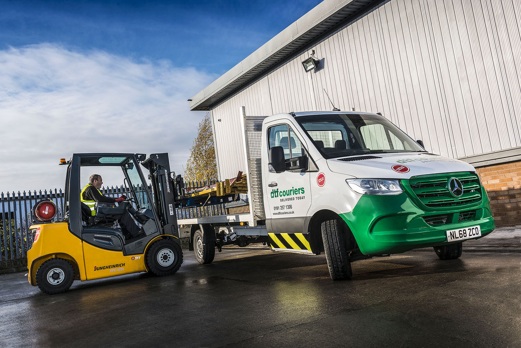 10da3be769 DTF checks in with new-generation Mercedes-Benz Sprinters - Bell ...