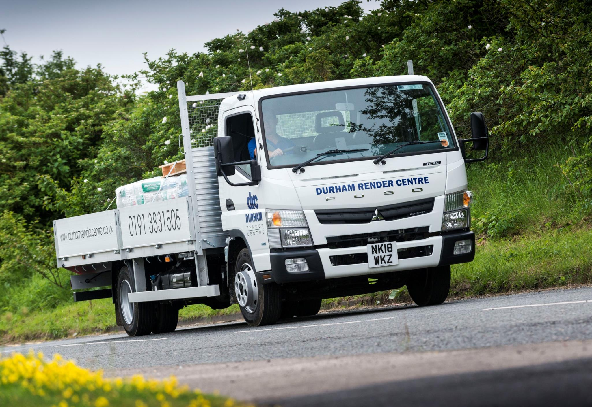 Durham Render Centre goes back to the future with new FUSO