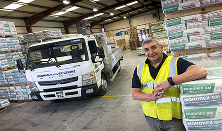 Durham Render Centre goes back to the future with new FUSO Canter