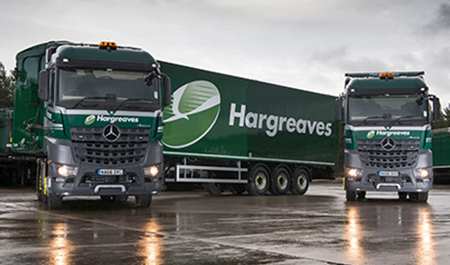 Hargreaves plays it safe with Mercedes-Benz Arocs