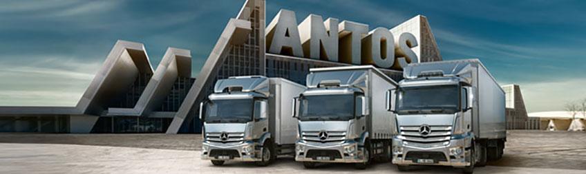 Mercedes-Benz Antos - Bell Truck and Van