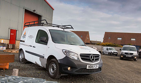Mercedes-Benz Citan provides a firm foundation for Northern Structures
