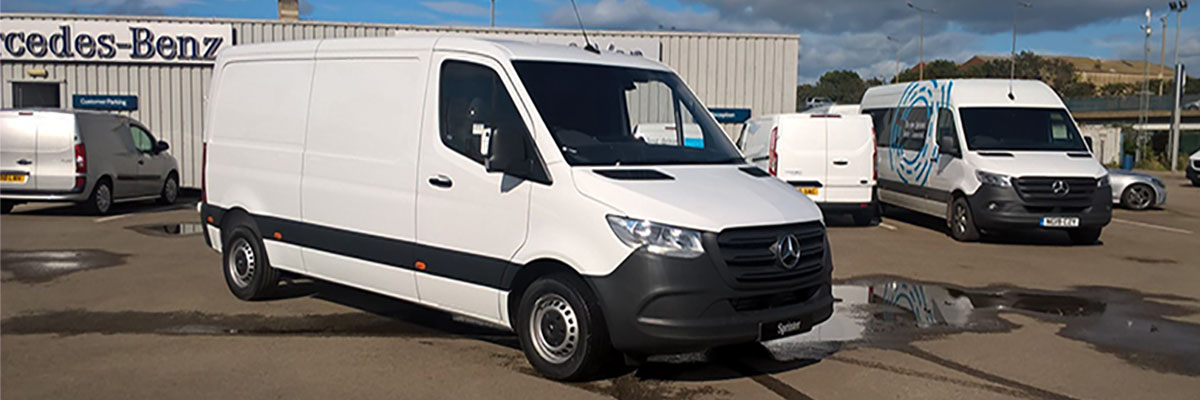 Exclusive Sprinter 314CDI MWB FWD from £350* per month with just £1 advance rental