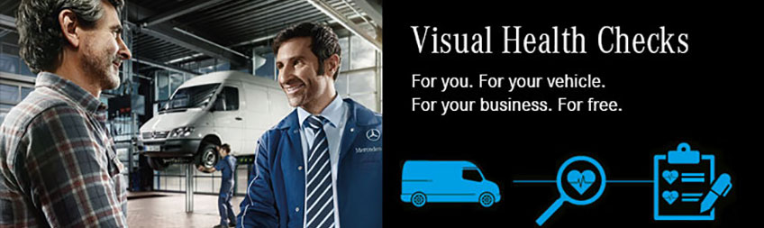 e0f023684e A Mercedes-Benz Visual Health Check ensures your vehicle and your business  stay in the the best shape