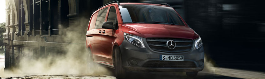 ba9421c400 The Mercedes-Benz Vito crew van impresses in terms payload. The front-wheel  drive models are able to carry up to 1