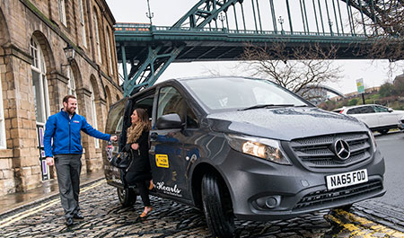 Vito ranks highest for Blueline Taxis