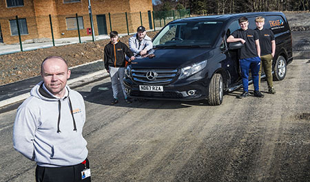 Mercedes-Benz Vito Sport wins top marks from ENGAGE