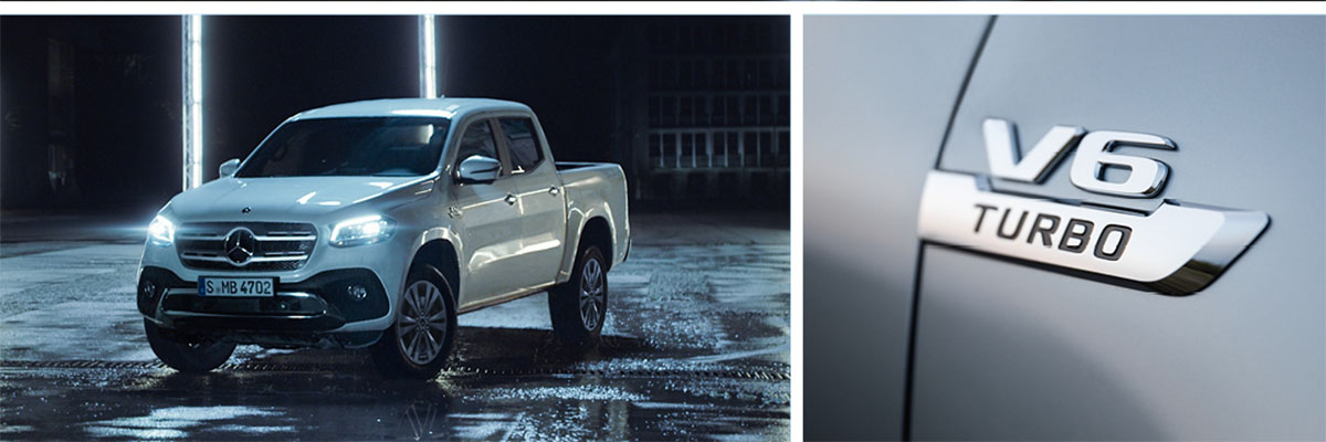 Mercedes-Benz X-Class X350d - From just £335* per month