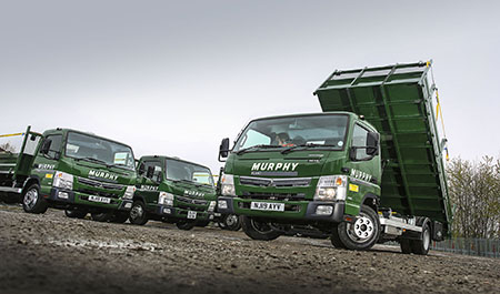 Murphy switches to 20 FUSO Canter Eco Hybrids for London ULEZ