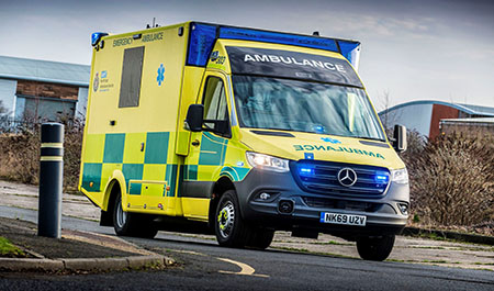 North East Ambulance Service extends its frontline capability with 44 Sprinters
