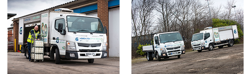 Pint Sized Fuso Canter Delivers For Greencroft Milk