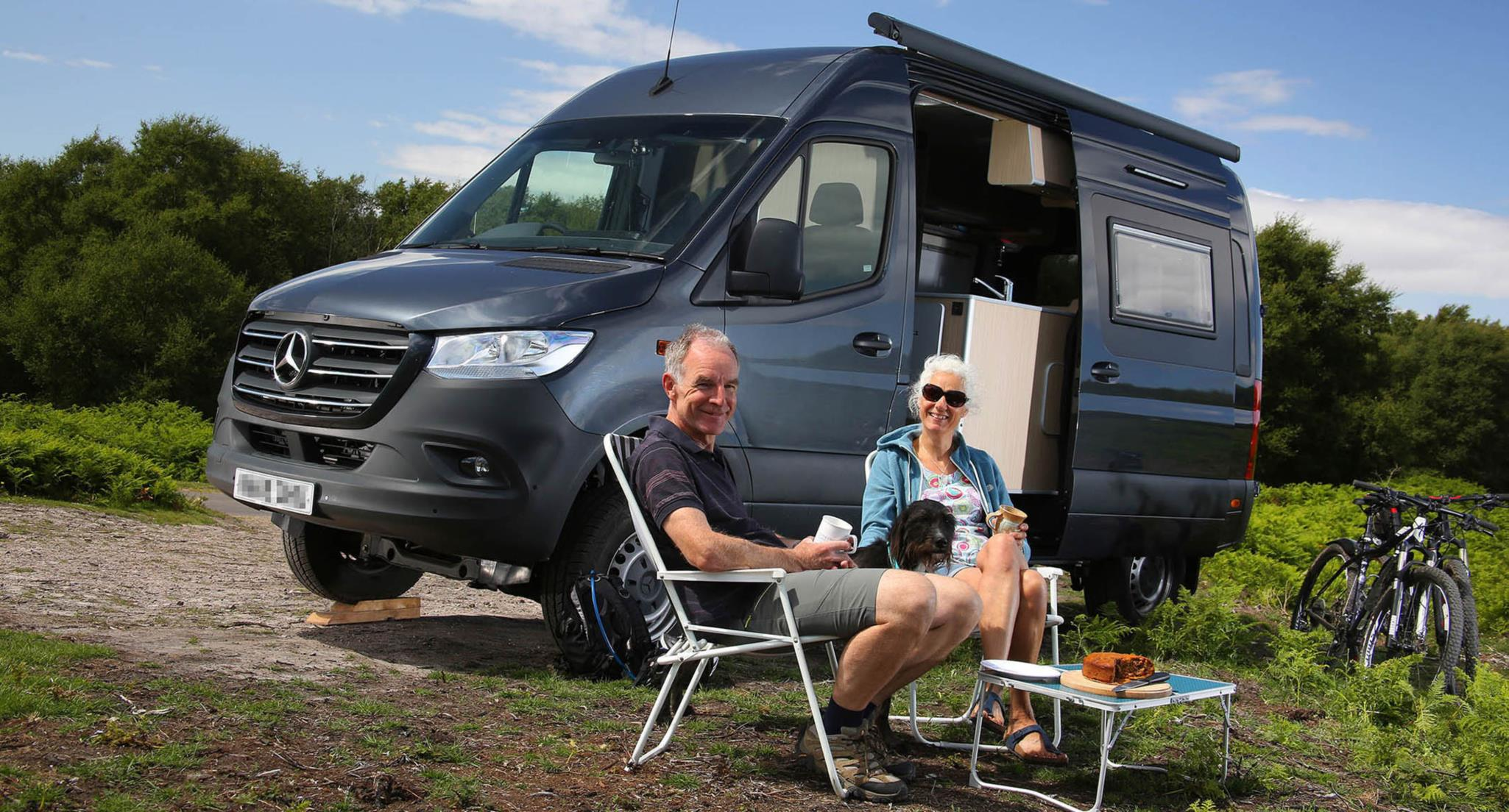 Happy Campers Unleash Their Spirit Of Adventure With Mercedes Benz Sprinter 4x4 Bell Truck And Van