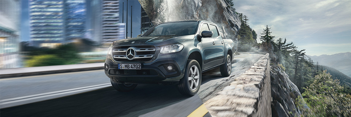 Brand New Mercedes-Benz X-Class Progressive just £275* per month