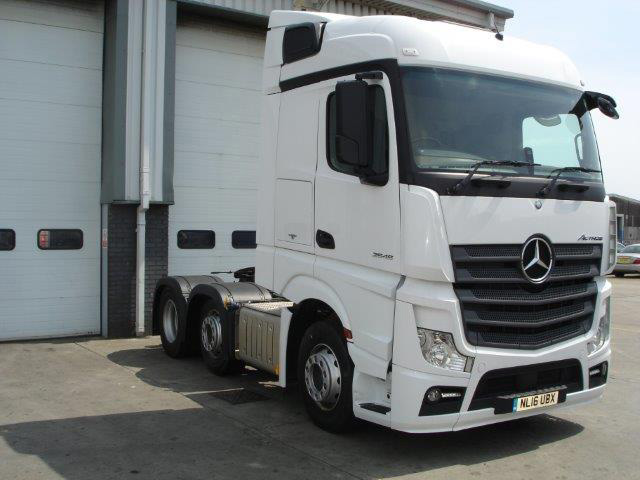 mercedes benz actros welcome to a new dimension bell truck and van. Black Bedroom Furniture Sets. Home Design Ideas