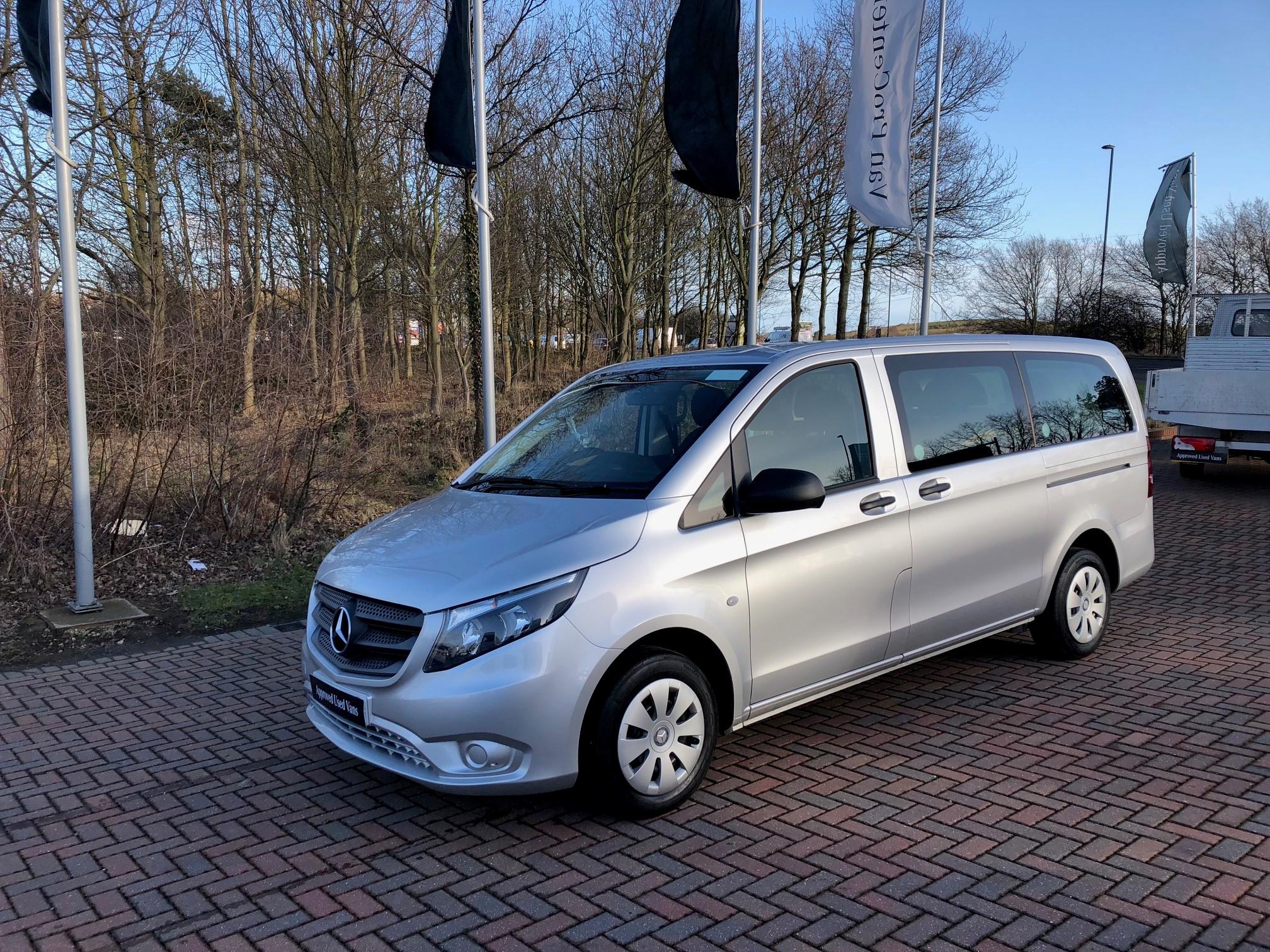 Mercedes benz vito 114 tourer pro bell truck and van for Used mercedes benz van