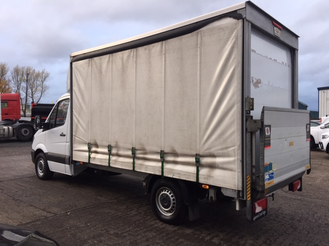 Insurance Mercedes Benz Sprinter Uk >> Mercedes-Benz Sprinter 313CDI Van - Bell Truck and Van