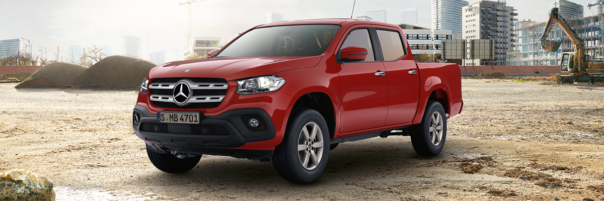 The Mercedes-Benz X-Class Progressive. For just £349 per month.