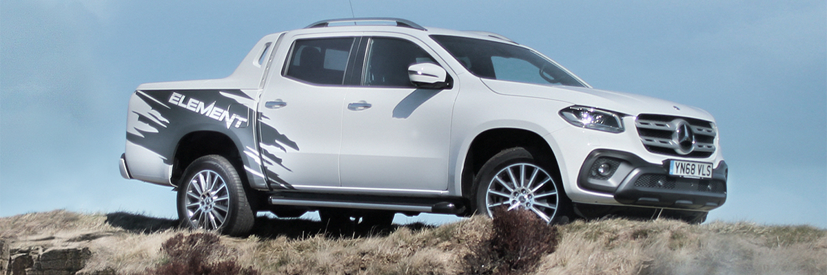 The limited edition X-Class ELEMENT - only £265* per month